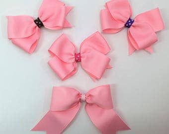 Pink Boutique Hair Bows, Hair Bows For Girls, Hair Clips, Girls Hair Bows, Hair Accessories, #HB-39-42,