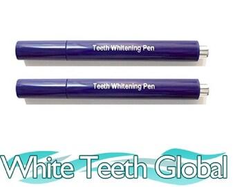 Teeth Whitening 22% Carbamide Peroxide Gel Pens 60 Day Supply 2-P