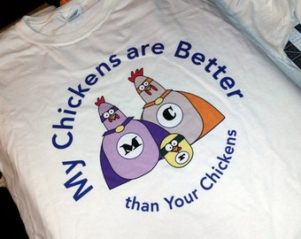 Super Chickens T-Shirt - Kids
