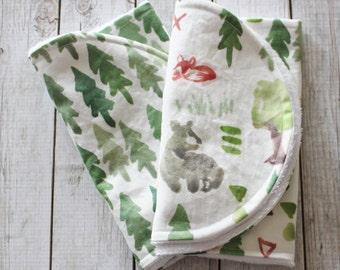 Forest Burp Cloths, Burp Cloth