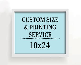 18x24 art print - custom printing services
