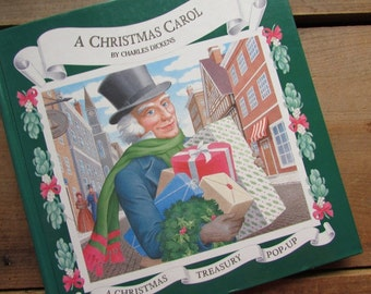 A Christmas Carol Adapted Pop Up Christmas Treasury