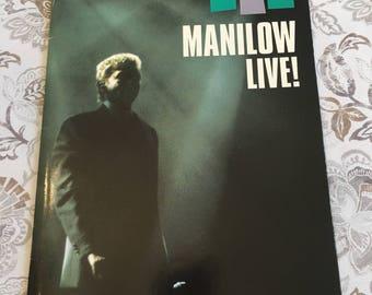 Vintage Barry Manilow Concert Program