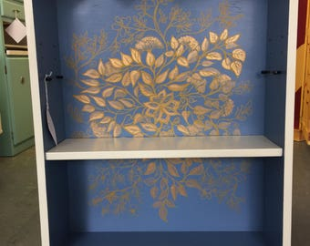 Golden Leaf Bookcase