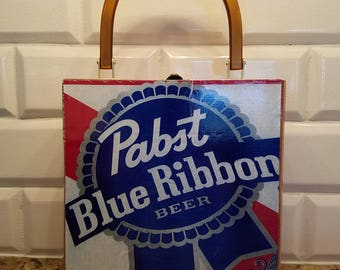 Pabst cigar box purse