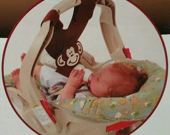 bebe Brown Monkey bottle sling