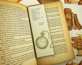 "BOOKMARK - Thomas Hardy ""Time"" Quote"