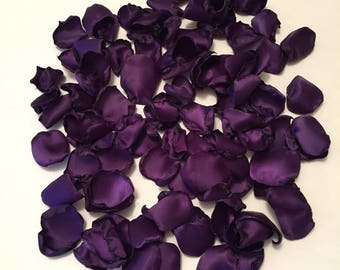 Purple Rose Petals/Flower Girl Petals/Rose Petals/Aisle Petals/Scatter Petals/Purple Petals/Purple Wedding/Rose Petals/Grappa Petals