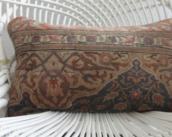 ottoman pillows vintage bedding 12X20 carpet pillow cover, 12x20 cover home decor boho pillow sofa pillow cover pouf lumbar pillow 438