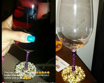 XL wine glass!!