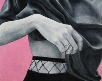 Drawing female body