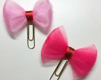 Sassy Pink bows