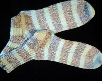 Socks, handknit