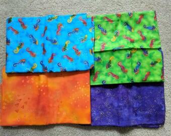 Custom Seahorse Quilt