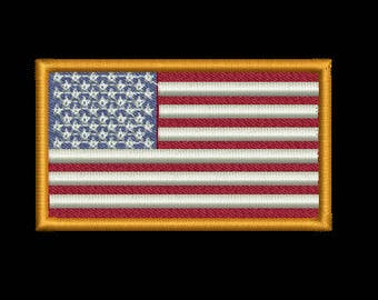 4th of July SALE!! USA Flag embroidery design