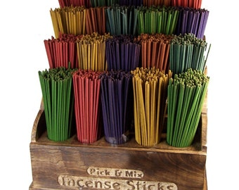 wooden retail shop display stand for Incense Sticks (sticks NOT included)