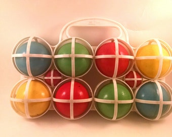 Vintage Sportscraft Bocce For The Young
