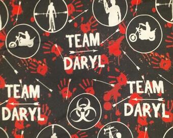 Team Daryl Cotton Lycra   Scrundies   Cloth Pads   Made to Order