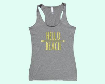 Hello Beach :) - Fit or Flowy Tank