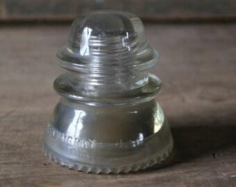 Hemingray No. 42 glass insulator