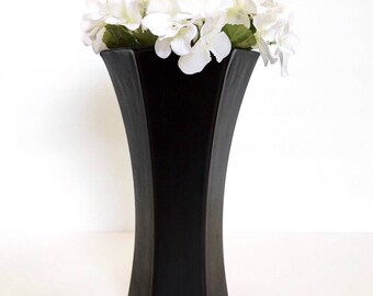 "9"" Flower Vase, Table Centerpiece, Wedding Centerpiece, Home Decor/ Made To Order/ Choose Color."