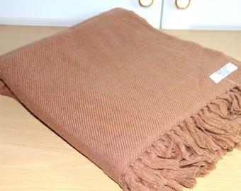 Throws Blanket Cashmere Throw Chocolate Brown Cashmere Plan Blanket Cashmere Throws Blankets Bed, Sofa, Throws Soft Delicate and Luxurious