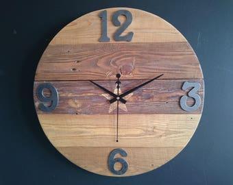 Wall clock handmade Ref: 17