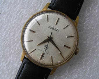 Vintage Old Watch RAKETA made in USSR - mechanical - Serviced