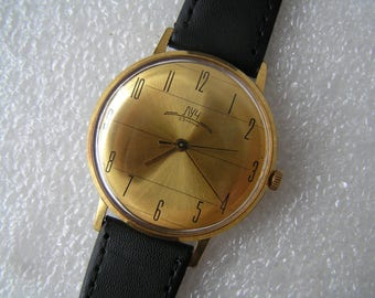 Vintage Ussr WATCH LUCH 21 jewels -- - Serviced