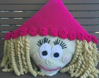 Crochet Princess Pillow Pattern