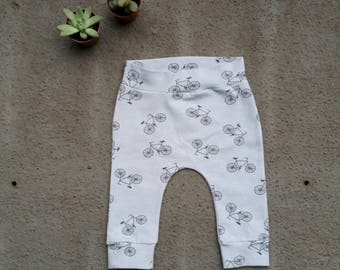 Harem pants with cycling