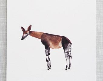 Okapi Animal Print