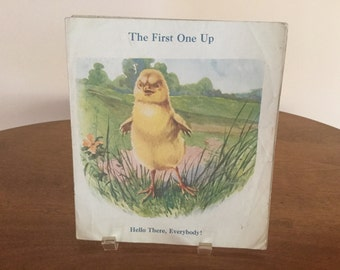 Vintage The First One Up Book  circa 1940