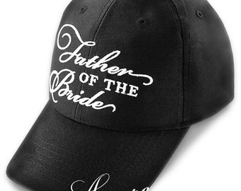 Father of the Bride White Baseball Cap BC407