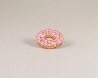 Donutz Enamel Pin - Copper