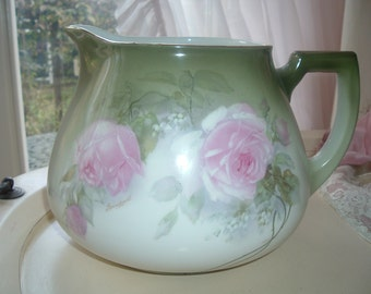 Bavaria pitcher with roses
