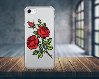 Rose iPhone Case. Rose Phone Case. Rose iPhone 7 case. Rose iPhone 6 Case. Rose iPhone 5 Case.