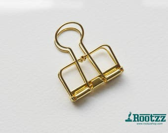 Metal binder clip 2 pcs  M