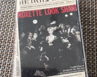 Roxette Look Sharp Cassette Tape
