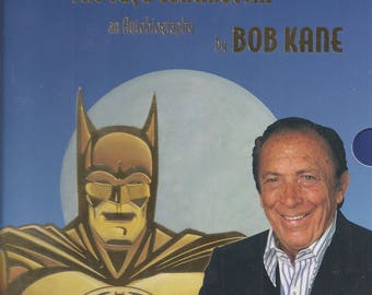 Batman & Me by Bob Kane with Tom Andrae * with Slip Case - NEW (SS)