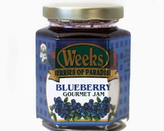 Blueberry Jam, Gourmet - Utah's Own, Preserves, Jelly, Marmalade