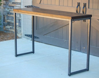 Industrial Entry Table || Sofa Table || Console Table || Desk || Bar