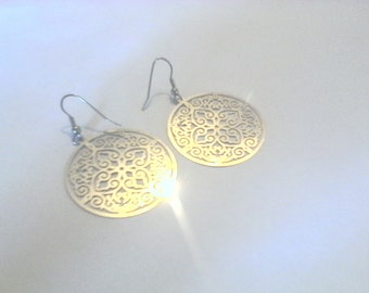 earrings and stainless steel, durable jewelry
