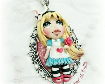 Collana con ciondolo Alice
