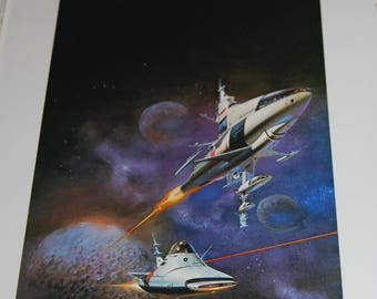 Boris Vallejo Print - Gateway - 1978
