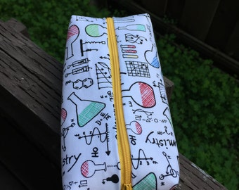 Science pencil pouch