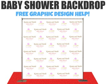 baby shower photo booth backdrop wedding photo booth backdrop step