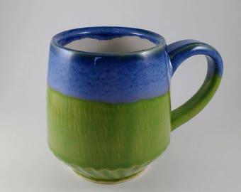 Blue Top Mug