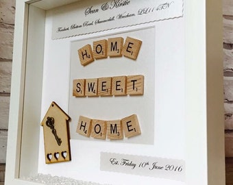 new home frame personalised new home frame first home gift new home gift - Home Decor Uk