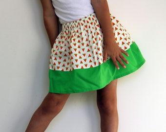 Watermelon slices skirt